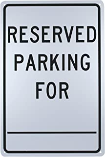 custom parking only signs