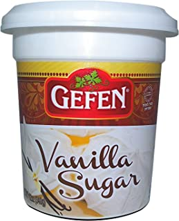 Gefen Vanilla Sugar, 12oz, (2 Pack), Resealable Container, Measuring Scoop Included