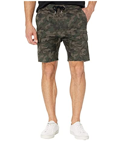 Zanerobe Sureshot Lite Cargo Shorts (Dark Camo) Men