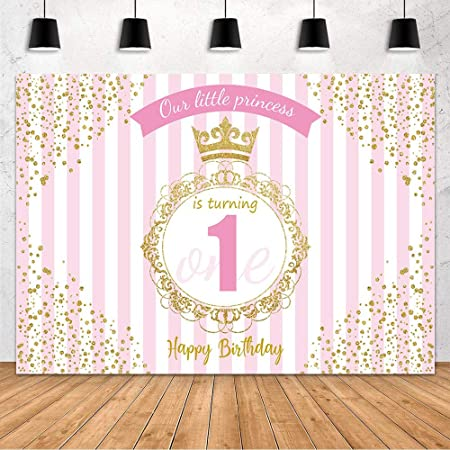 Big Spots /& Stripes Green Personalised Children/'s Birthday Party Bunting