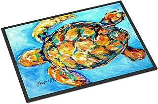 Caroline's Treasures MW1150JMAT Sand Dance Turtle Indoor or Outdoor Mat 24x36, 24H X 36W, Multicolor