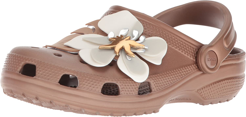 Crocs Womens Classic Botanical Floral Clog Clog