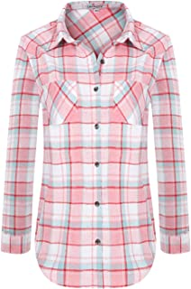 extra long womens flannel shirt