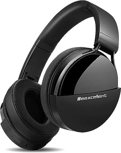 Casque Bluetooth sans Fil, Beexcellent Q7 Casque Audio Stéréo Hi-FI 40 Heurs de Lecture Bluetooth 5.0 avec Microphone...