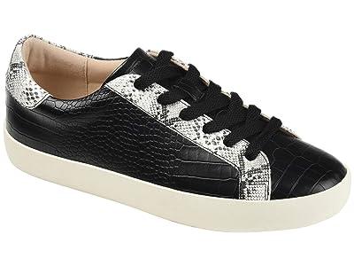 Journee Collection Comfort Foamtm Camila Sneakers (Black) Women