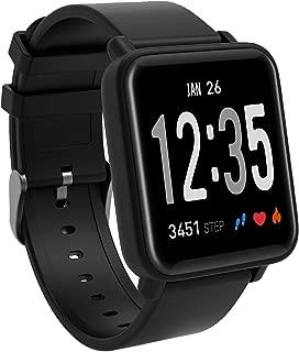 Fitness Tracker Watch, Color Screen Activity Tracker Watch Heart Rate Monitor IP67 Waterproof Smart Wristband Blood Pressure Monitor Sleep Monitor Pedometer Kids Women Men
