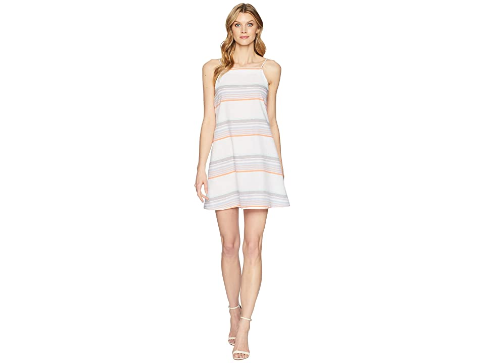 Echo Design Sunset Stripe Mini Dress (White) Women