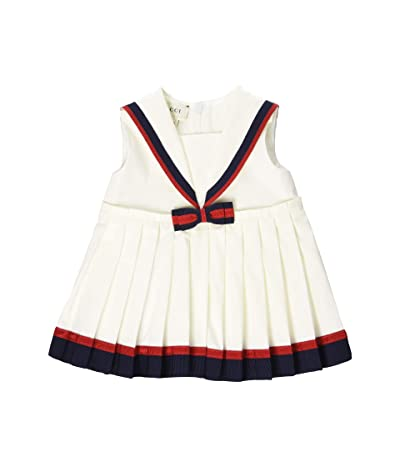 Gucci Kids Dress 551889ZB365 (Infant) (Soft White) Girl