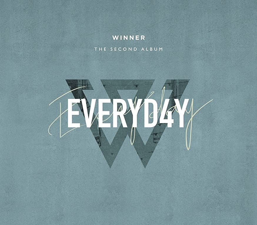 YG WINNER - EVERYD4Y [DAY ver.] (Vol.2) CD+Photobook+Lyric Book+Photocards+Sticker+Double-Sided Folded Poster+Free Gift