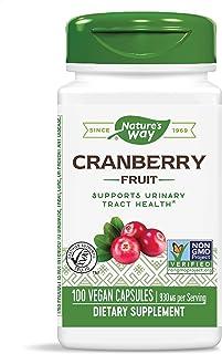 Sponsored Ad - Nature's Way Premium Herbal Cranberry Fruit, 930 mg per serving, 100 Capsules