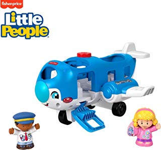 Fisher-Price Little Avión de personas, Vehicle Airplane, L