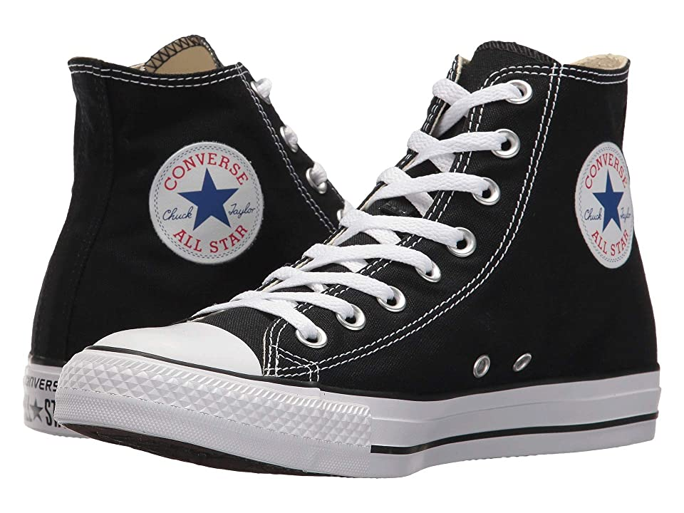 Retro Vintage Flats and Low Heel Shoes Converse Chuck Taylorr All Starr Core Hi Black Classic Shoes $54.99 AT vintagedancer.com