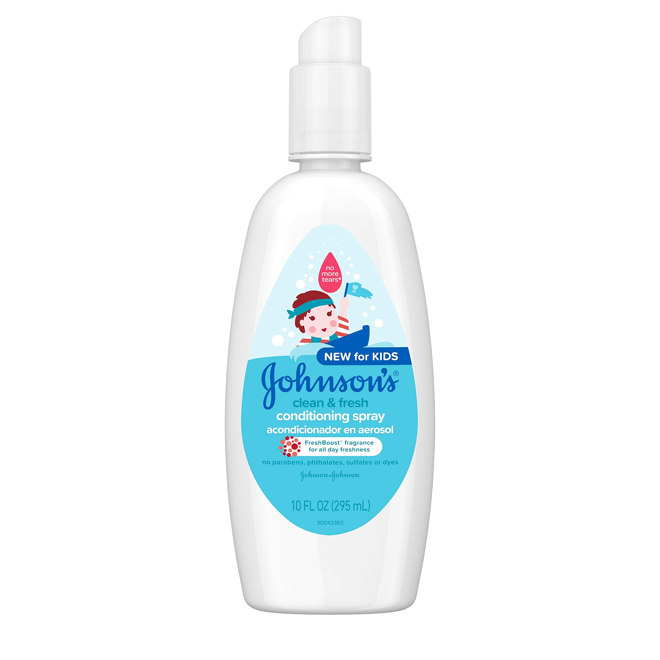 Johnsons Tear Free Conditioning Hypoallergenic FreshBoost