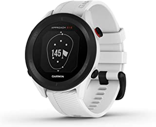 $199 » Garmin Approach S12, Easy-to-Use GPS Golf Watch, 42k+ Preloaded Courses, White, 010-02472-02