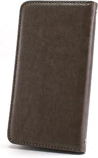 ホワイトナッツ Galaxy Active neo SC-01H ケース 手帳型 【左利き】 ベルトなし スタイリッシュ チャコール スマホケース ギャラクシー アクティブ ネオ 手帳 カバー スマホカバー WN-OD494547_ML