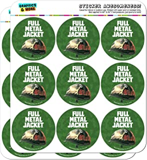 "Full Metal Jacket Born to Kill Planner Calendar Scrapbooking Crafting Stickers 18 2"" Stickers transparent SCRAP.CL.STICK02.WBGAM033.Z004807_8"
