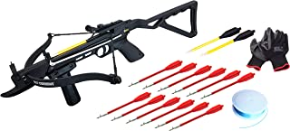 BOLT Crossbows, Crossbow Angler Bundle with Front Foregrip, 12 Fishing Bolts, 150 feet of Bow Fishing Line, and a Pair of Bolt Crossbow Nitrile Fishing Gloves