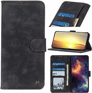 Dalchen Compatible for Case Huawei Enjoy Z 5G, 3 Card Slots 1 Cash Pockets Wallet Cover, Leather Flip Magnetic Button Kick...