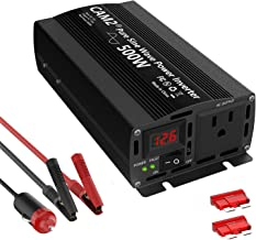 $49 » Sponsored Ad - CAM2 500W Pure Sine Wave Power Inverter,Peak Power 1000W, DC 12V to 110V AC with 1AC Outlet and 1 LED Display