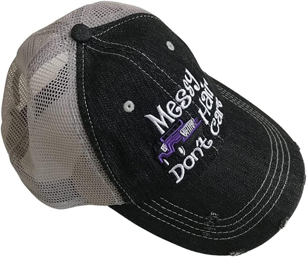 GoCowgirl Womens Baseball Cap Distressed Vintage Unconstructed Embroidered Dad Hat