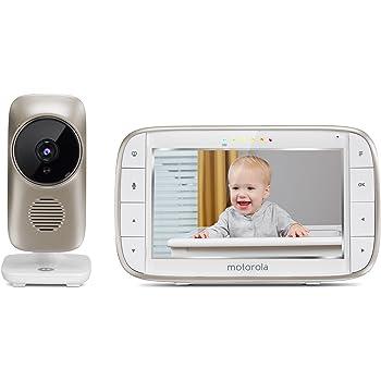 2 Dual Mode Moniteur Bébé avec 2 caméras et 4.3 Pouces LCD MOTOROLA MBP 854 Connect