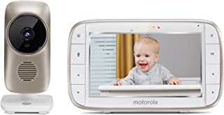 """Motorola MBP845CONNECT 5"""" Video Baby Monitor with Wi-Fi Viewing, Digital Zoom, Two-Way Audio, and Room Temperature Display"""