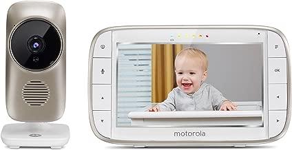 Motorola MBP 845 Connect - Vigilabebés vídeo Wi-Fi con pantalla LCD a color de 5.0