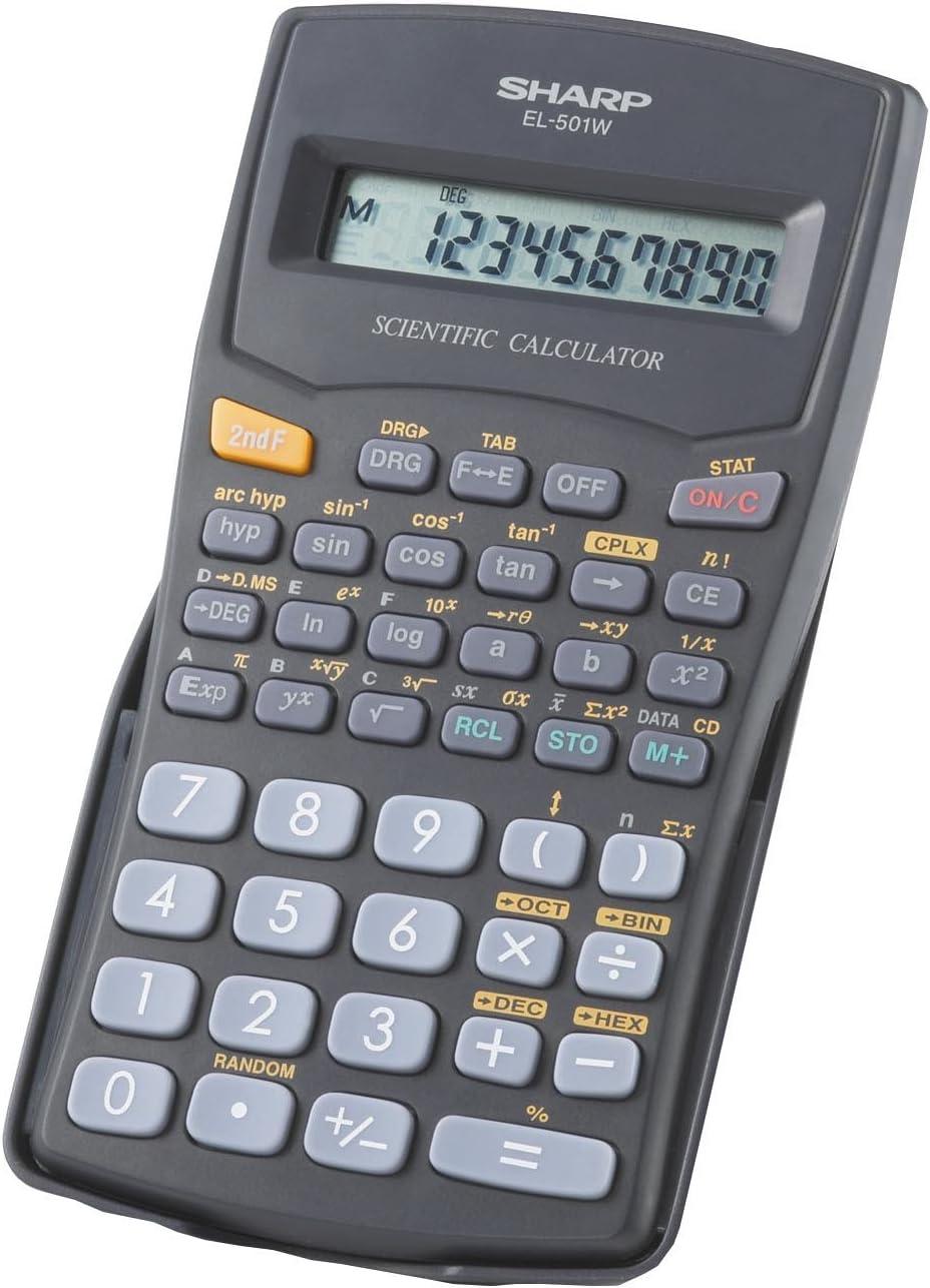 New Japan Maker New York Mall Sharp R EL-501VB Scientific Calculator