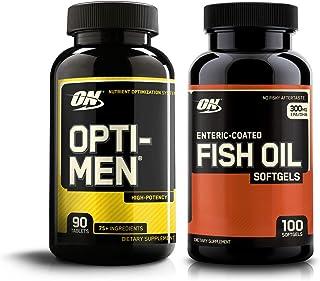 Opti-Men 90ct & Fish Oil 100ct