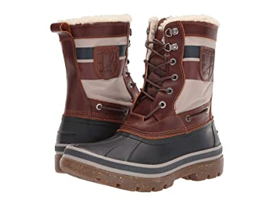 Sperry Ice Bay Tall Boot (Brown/Nautical) Men