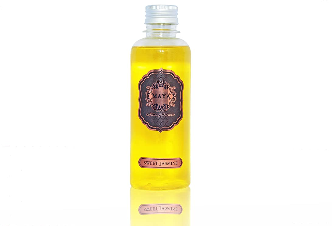 独占スカリー従来のMAYA フラワーディフューザー リフィル スイートジャスミン 240ml |Aroma Flower Diffuser Refill - Sweet Jasmine 240ml