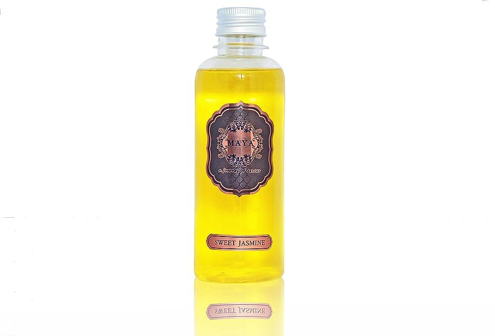 賄賂デコードする患者MAYA フラワーディフューザー リフィル スイートジャスミン 240ml |Aroma Flower Diffuser Refill - Sweet Jasmine 240ml