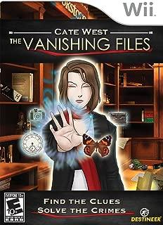 Cate West the Vanishing Files - Nintendo Wii