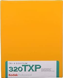 "KODAK Professional Tri-X Pan 320 TXP 4164 Black & White Film ISO 320, 4x5"", 10 Sheets"