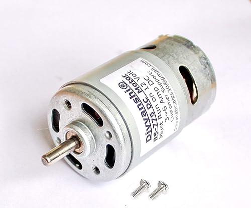 Divyanshi RS-775 12 Volt DC High Torque Motor With Mounting Screws