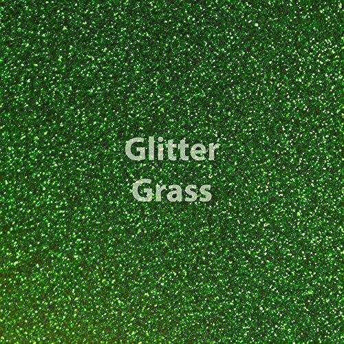 Siser Glitter Heat Transfer Vinyl 20 x 12 Sheet (Grass)