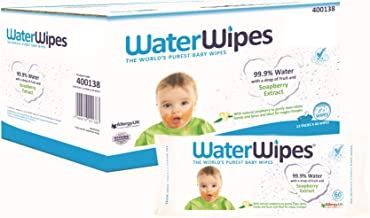WaterWipes Soapberry, 12 Count