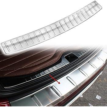 Fits Nissan Rogue 2017-2020 Chrome Rear Bumper Guard Trunk Sill Protector Steel