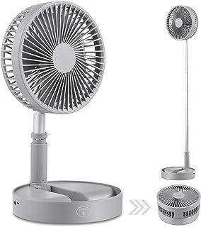 Mini Ventilateur de table portable,usb ventilateur de circulation d'air Mini ventilateurs de voyage portables alimentés pa...