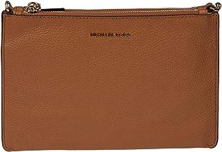 Michael By Michael Kors Women's 32S9GF5C4L203 Brown Leather Clutch