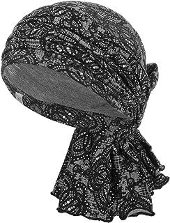 Christine Headwear Turbante Lace RococoHeadwear Gorro quimioterapia pañuelo para Cabeza