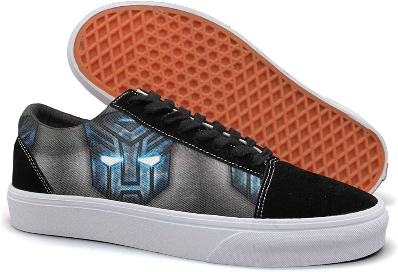 Charmarm Cool Car Men Iron Logo Mask bluee Light Eyes Womens Comfortable Casual Sneakers
