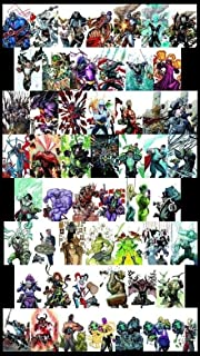 Complete Villain's Month 3d Covers From New 52 and Dc Comics 52 Total Comics with Batman and More