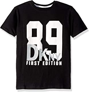 DKNY Boys' Short Sleeve Fashion T-Shirt