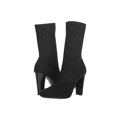 Charles by Charles David Sky Sock Bootie (Black Stretch) Women