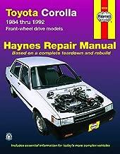 Toyota Corolla 1984 Thru 1992 Front-Wheel Drive Models (Haynes Automotive Repair Manual)