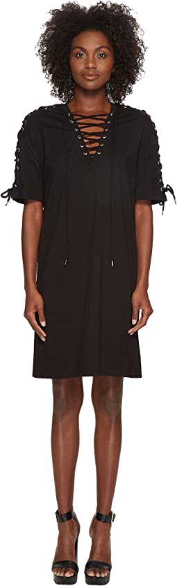 McQ - Laced Tee Dress