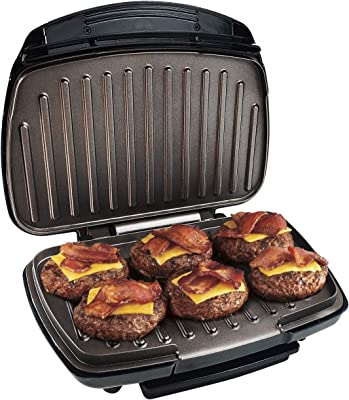 Small Appliances George Foreman GR7 Classic grill GR7BW Home ...