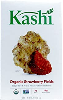 Kashi, Organic, Strawberry Fields Cereal, 10.3oz Box (Pack of 4)