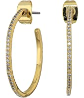 Shimmer Small Hoops Earrings